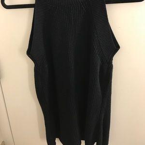 Modern Citizen Sweaters - Modern Citizen Miya High-Neck Sleeveless Sweater